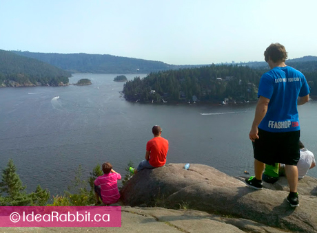 Quarry Rock Hike At Deep Cove